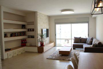 שיפוץ דירת 5 חדרים, באר יעקב